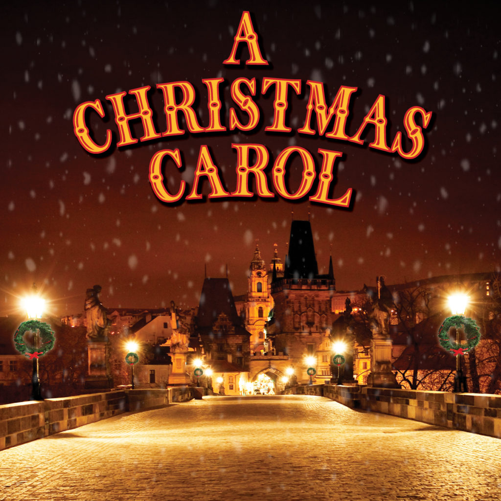 Ennis Christmas Carol Graphic for Magnet