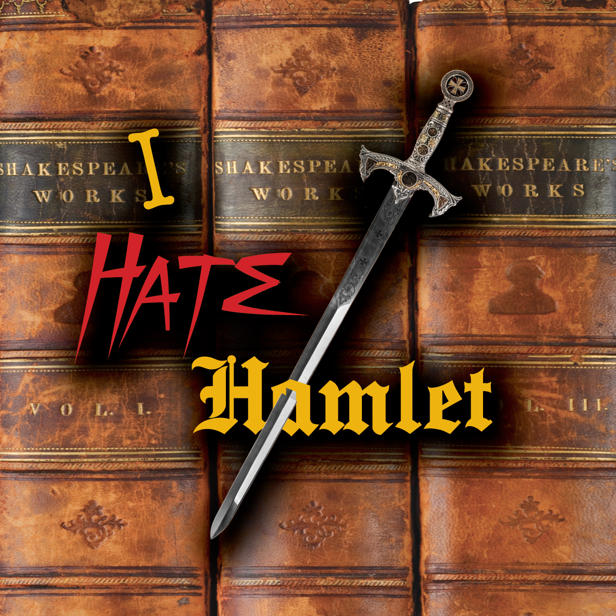 Ennis I Hate Hamlet Graphic for Magnet